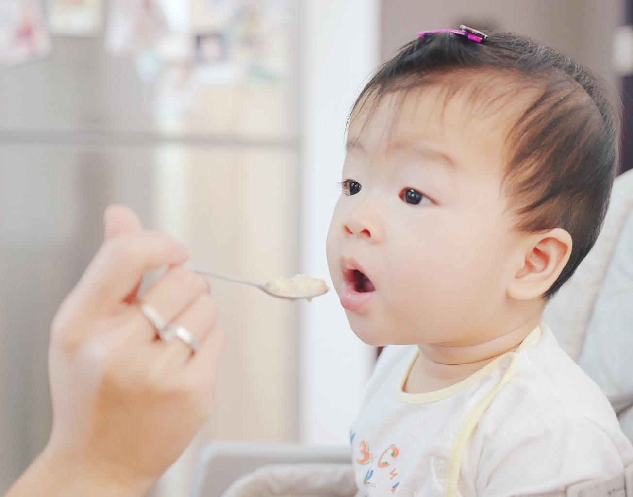 L'alimentation de bébé