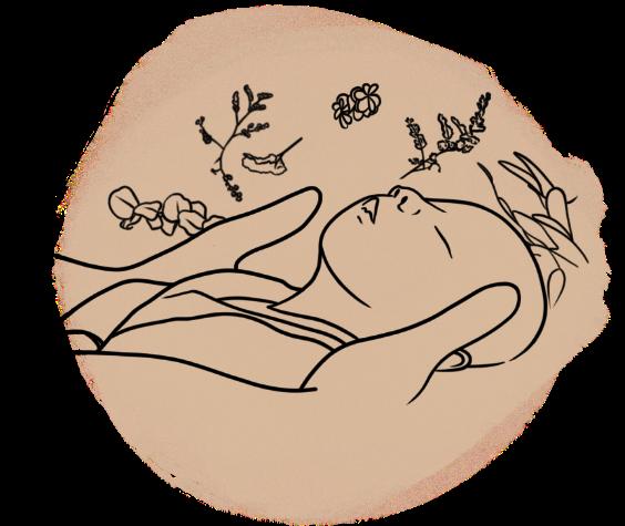 Illustration bain de saison